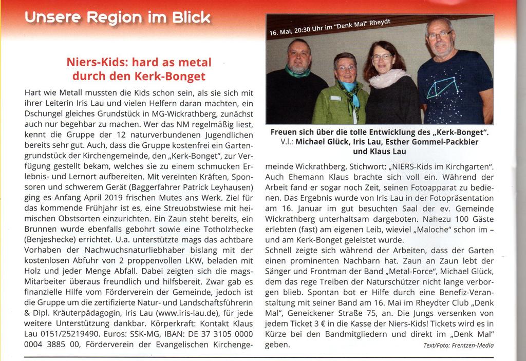 Niers-Magazin Jan. 2020